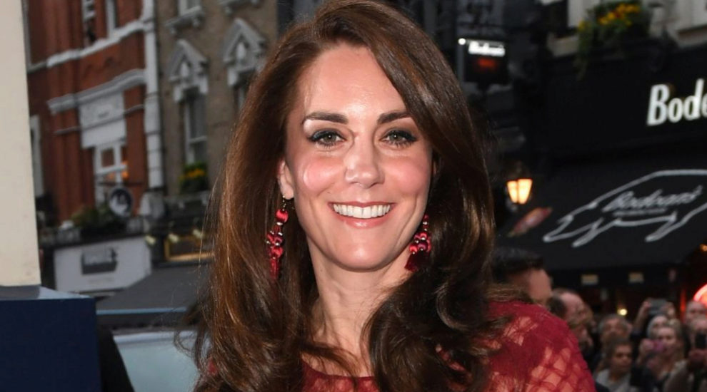 Kate Middleton vestida de Marchesa Notte