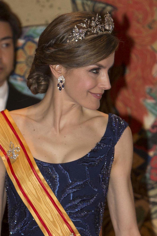 La Reina Letizia en su visita de Estado a Japón