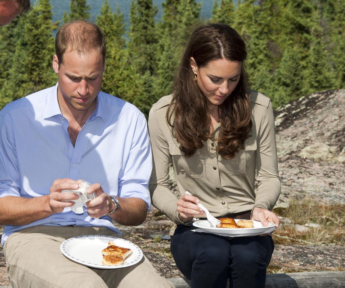 En la dieta de Kate Middleton y Guillermo de Inglaterra no faltan...