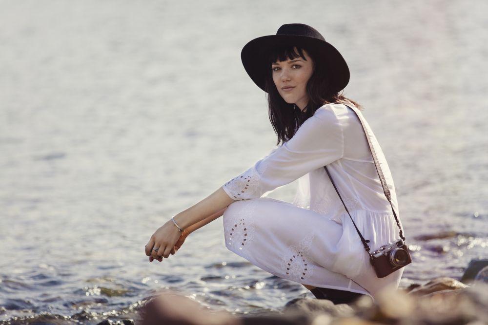 La modelo Anya Lyagoshina para OBJECT.