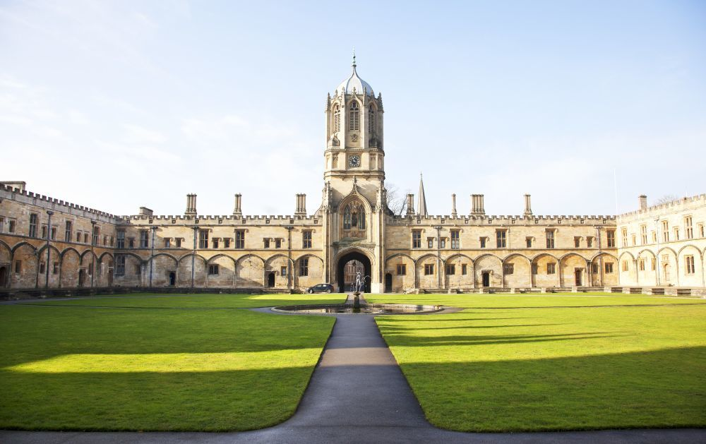 Oxford es conocido por colleges.