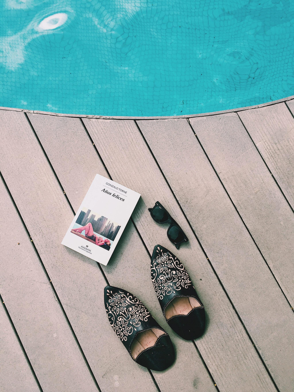 Entre menú y menú, pudimos disfrutar de la piscina climatizada del...