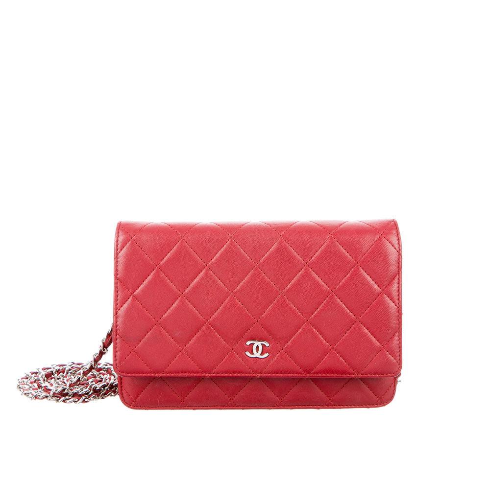 Bolso rojo acolchado. De Chanel (c.p.v.)