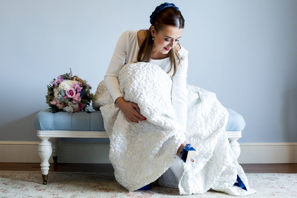 Ana y Carlos se casaron en una boda de otoño en una preciosa finca de...
