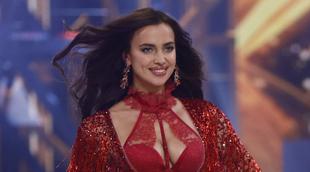 La top Irina Shayk en el pasado desfile de Victoria's Secret...