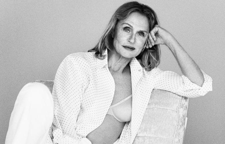 Lauren Hutton fotografiada por Sofia Coppola para Calvin Klein