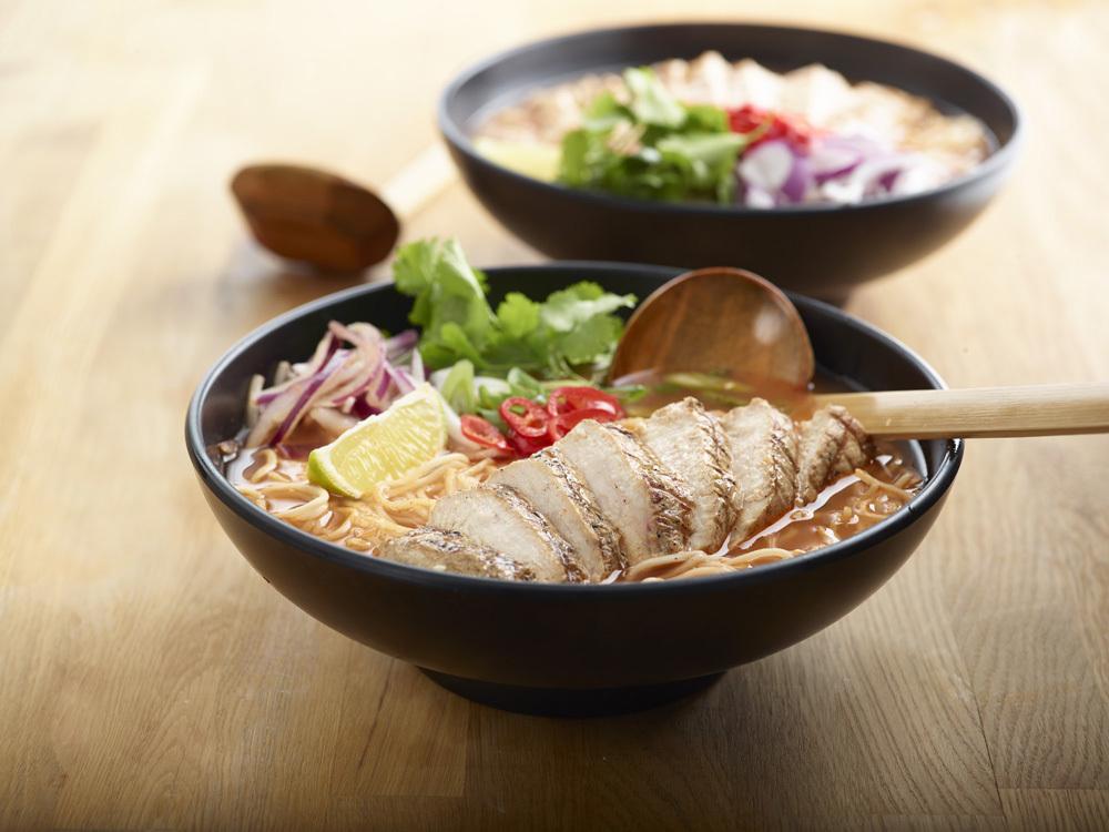Chilli Chicken Ramen de Wagamama.