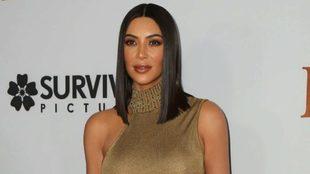 """Kim Kardashian en la premiere """"The Promise"""""""