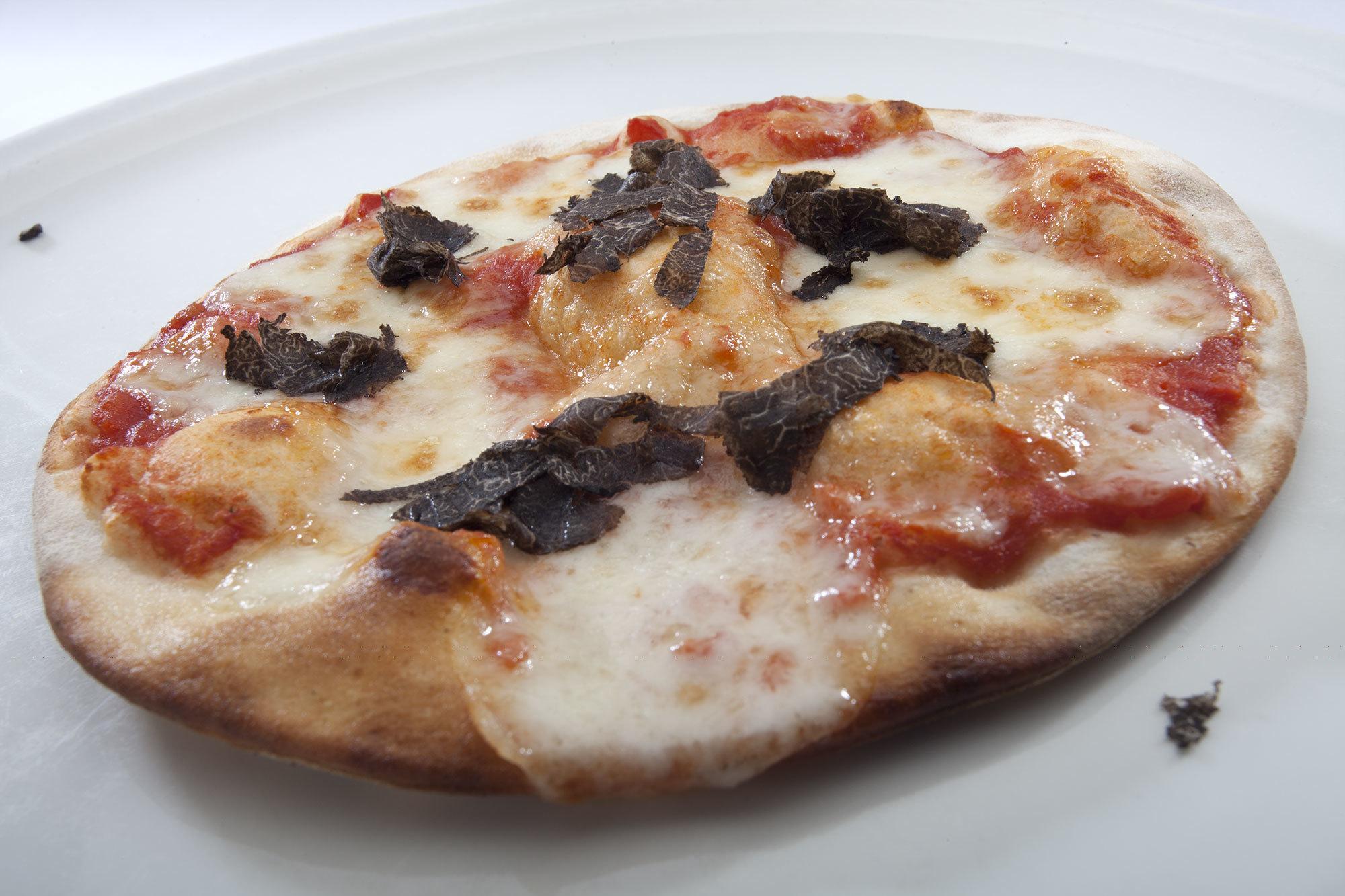 Pizza con trufas de Don Giovanni