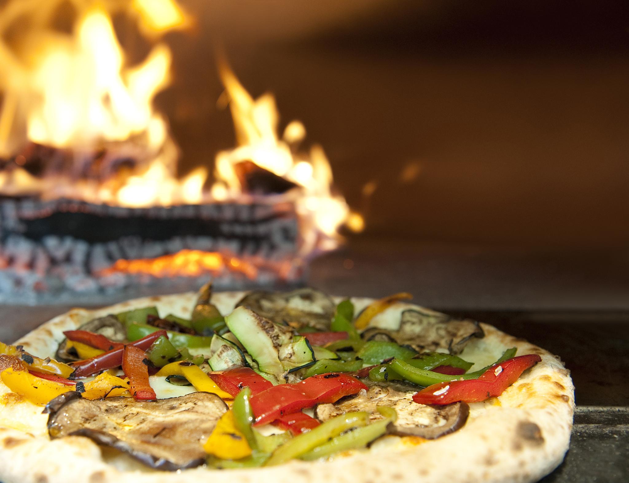 La pizza más vegetal de Bosco de Lobos
