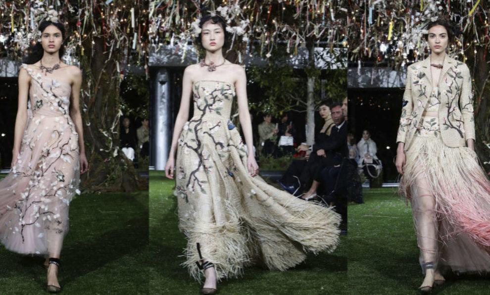 La firma francesa ha presentado su colección haute couture en...