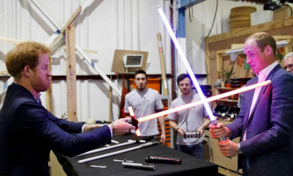 ¿Cameo de los Príncipes WIlliam y Harry en Star Wars?