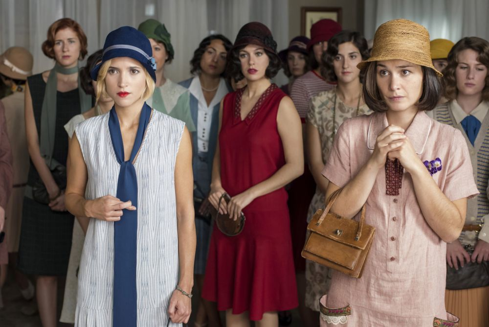 Fotograma de 'Las chicas del cable'