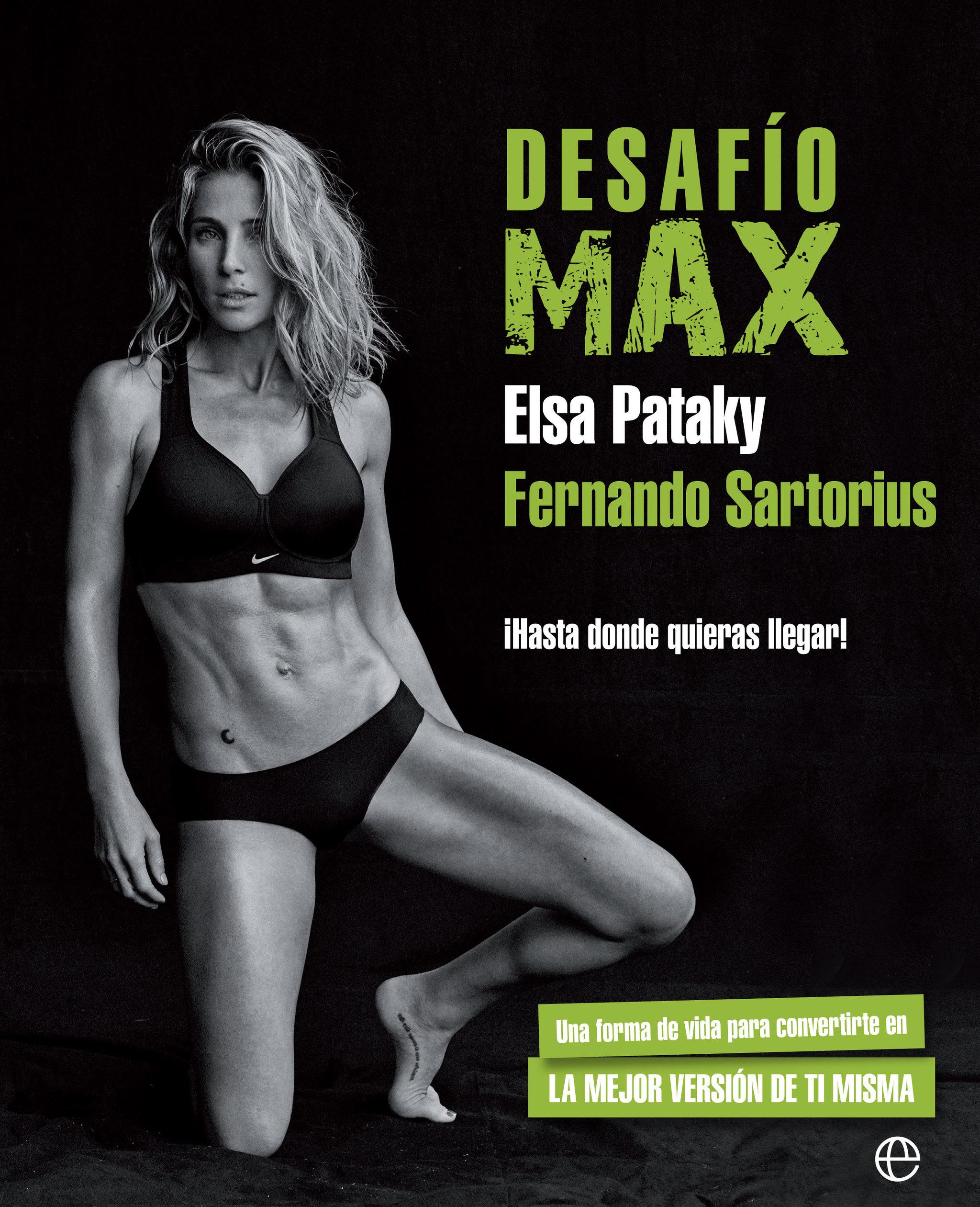 Portada de 'Desafío MAX', de Elsa Pataky y Fernando Sartorius,...