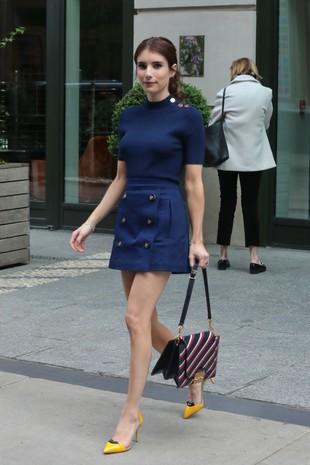 Emma Roberts inspira nuestro look del día