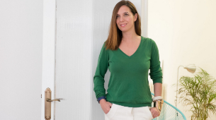 Anabel Vázquez, copropietaria de Laconicum, una de las webs de...