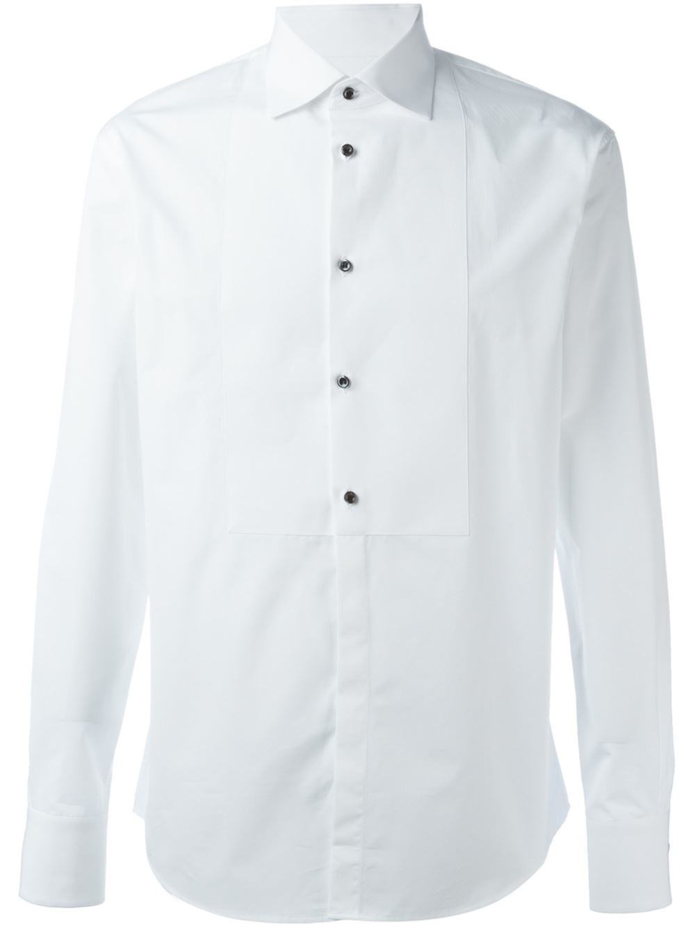 Camisa con botones negros. De Dsquared2 (384 euros).