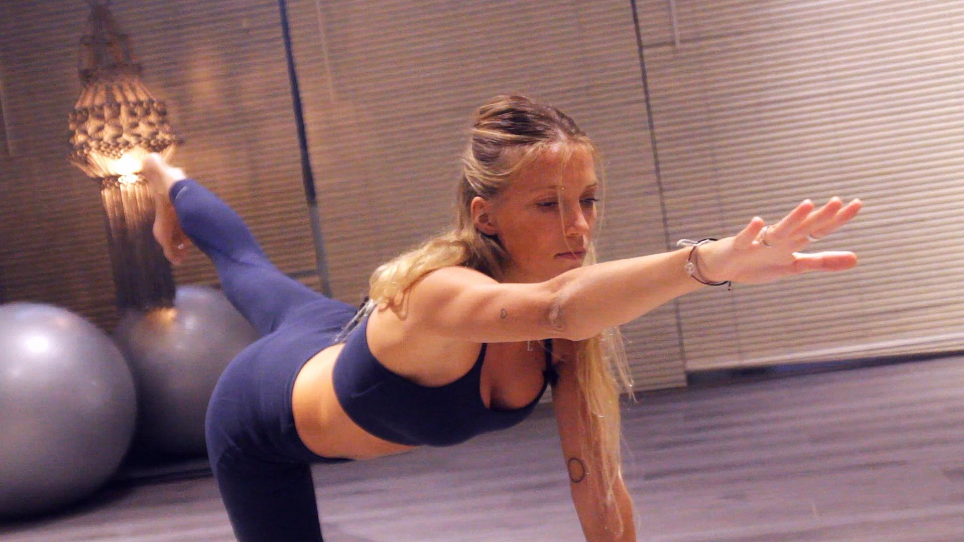 Yoga desde casa.