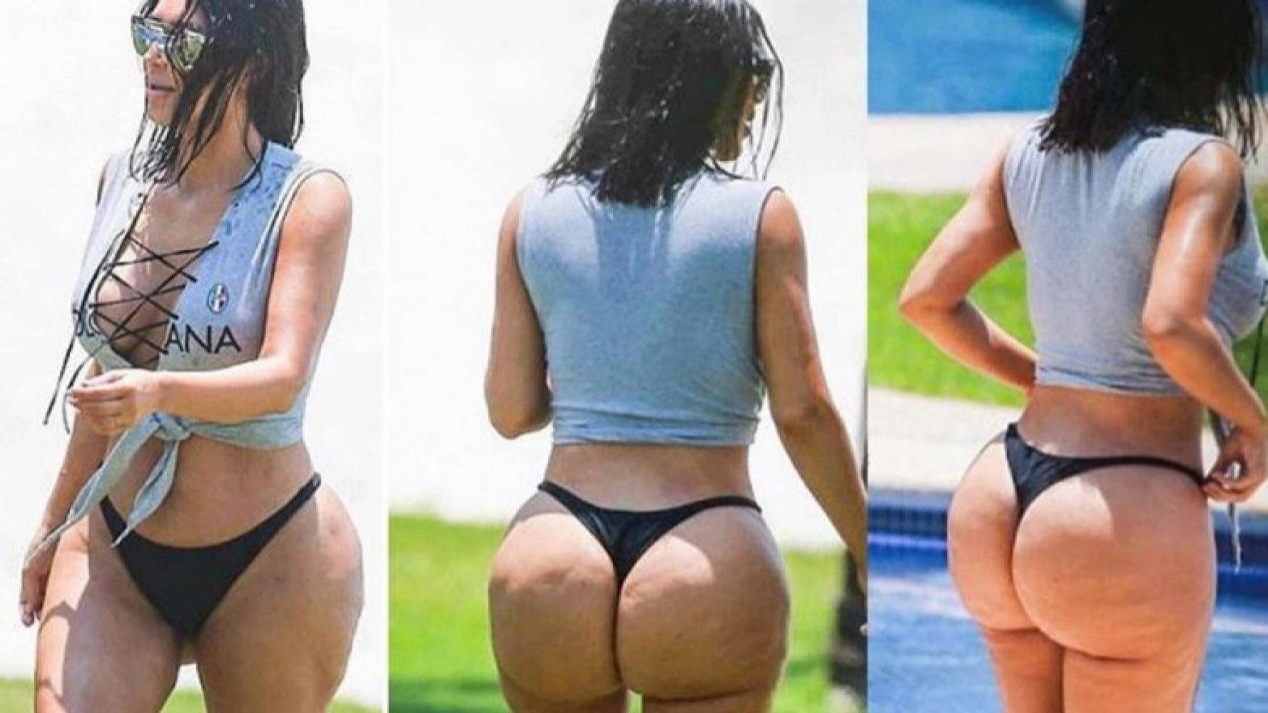 Kim Kardashian en México.