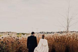 Clara y Manuel se casaron en una boda de temática muy navideña en...
