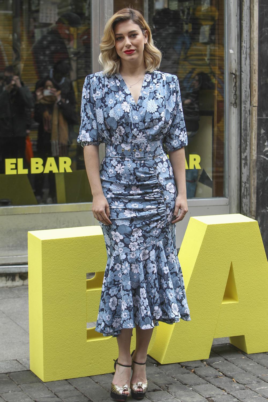 Blanca Suárez en la promoción de la película El Bar, en Madrid