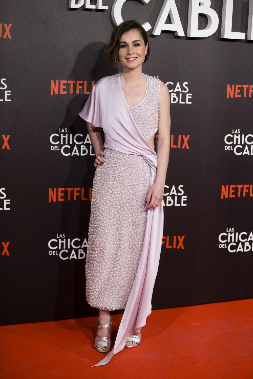 Nadia de Santiago en el estreno de las chicas del cable
