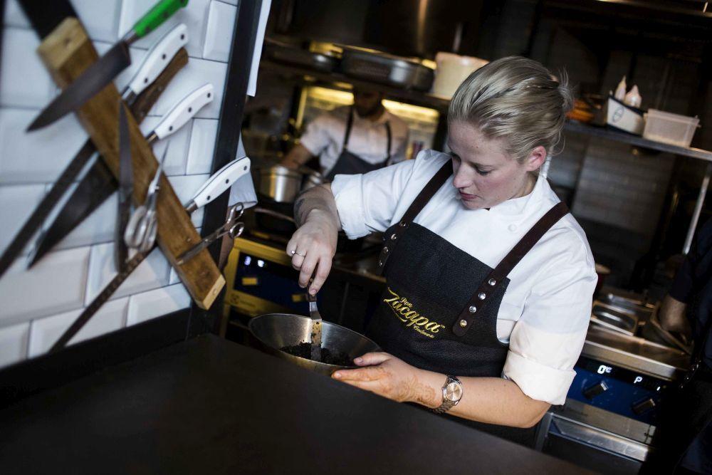 La chef Danesa Kamilla Seidler