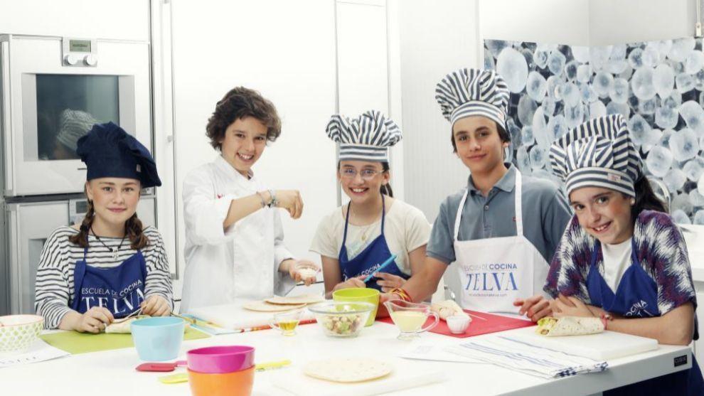 Campamento de verano de Cocina TELVA.