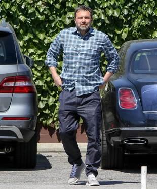 Ben Affleck luce una nueva figura bastante distinta a la que nos tiene...