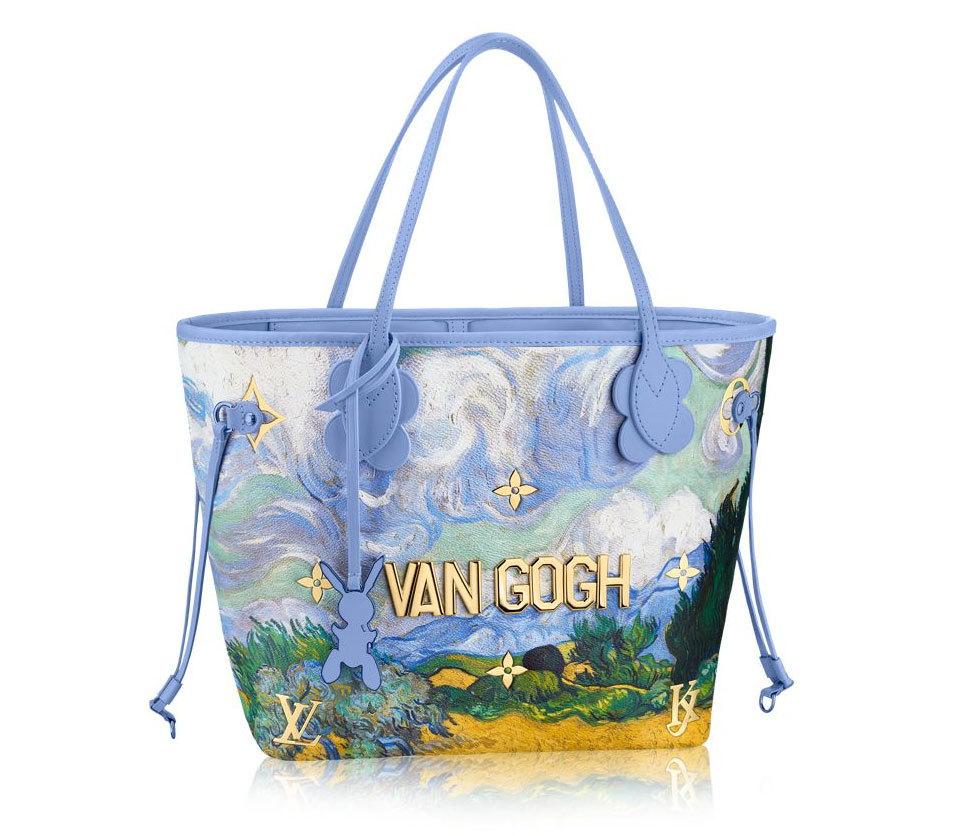 Bolso lienzo Van Gogh. De Louis Vuitton (2.400 euros).