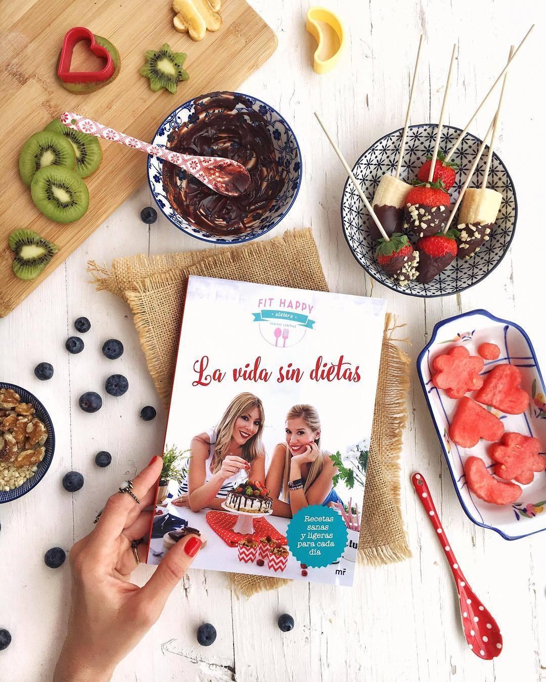 Las Fit Happy Sisters, te presentan más de 80 recetas para disfrutar...
