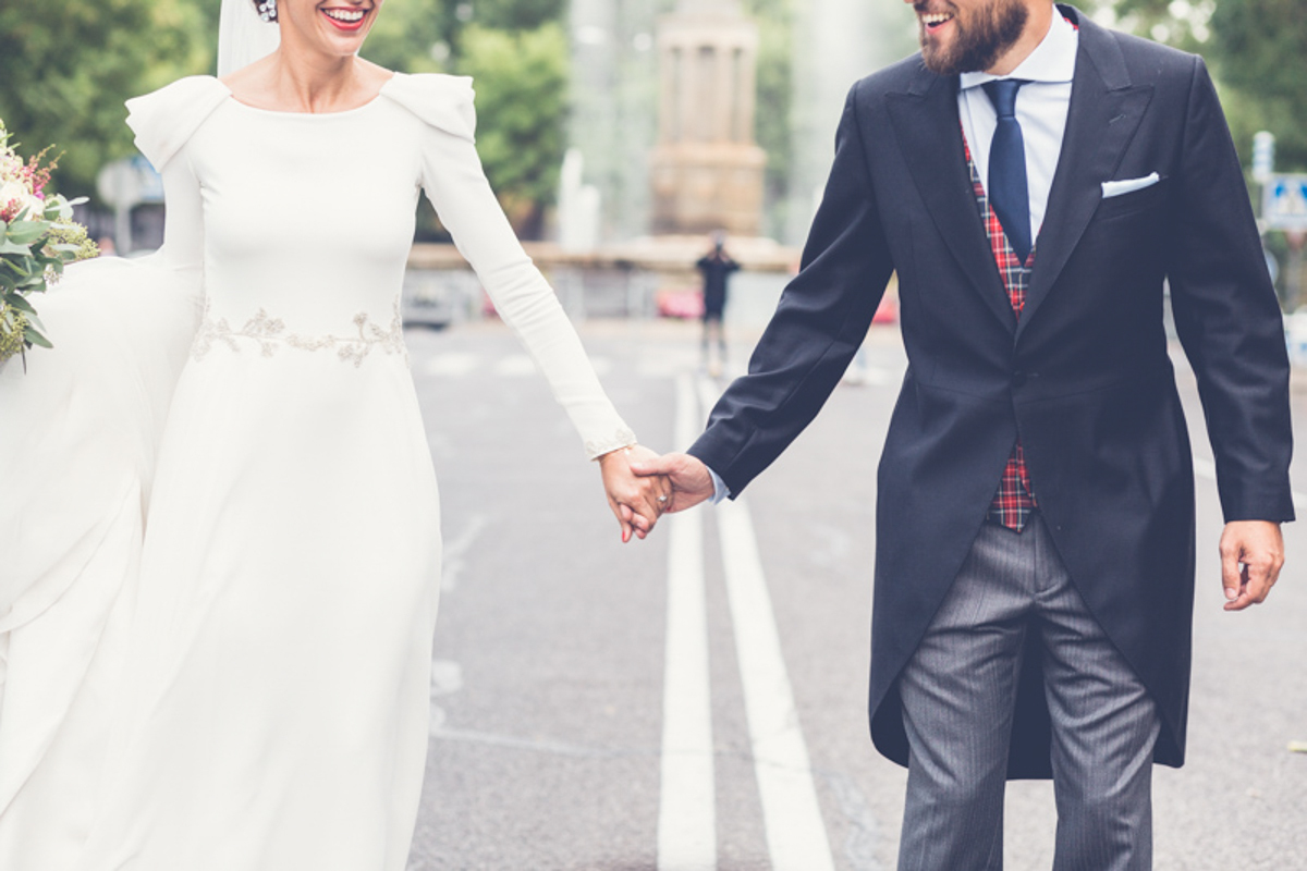 Ana y Willy se casaron en una boda Do It Yourself celebrada en una...