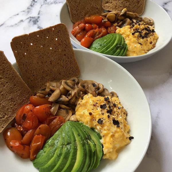 El desayuno perfecto