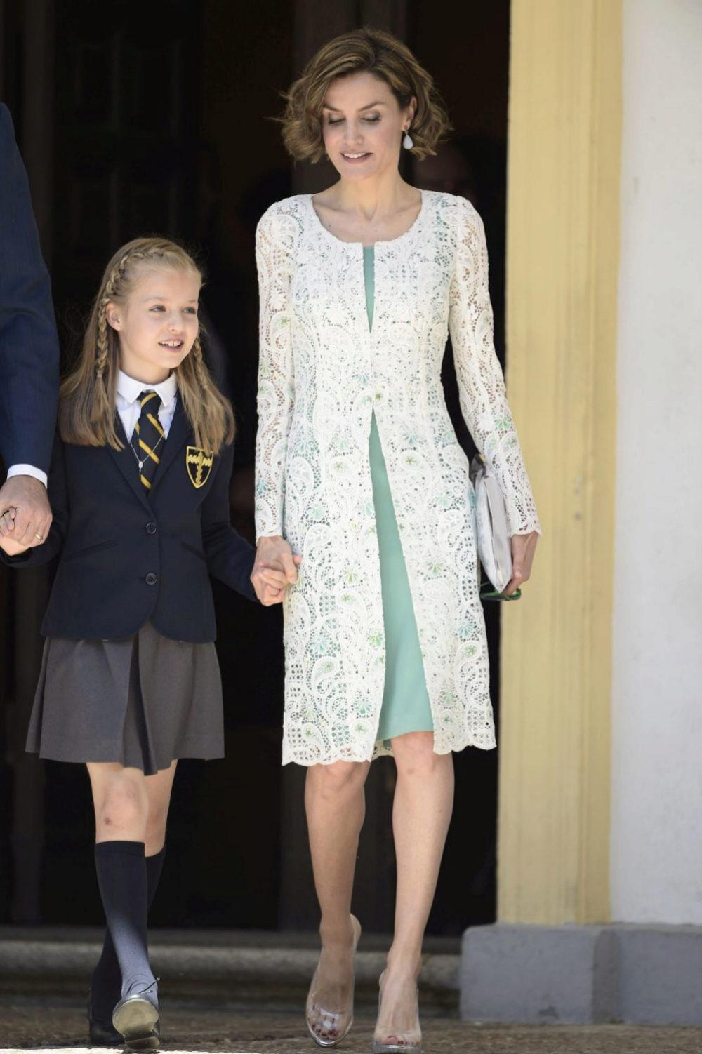 Letizia vestida de Felipe Varela