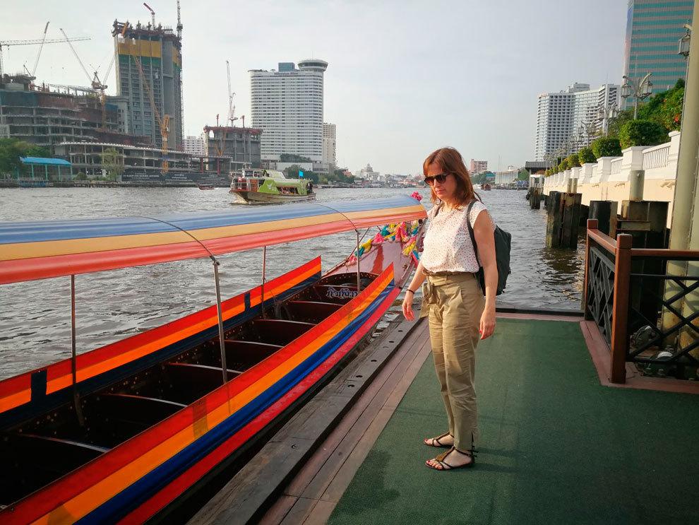 Estefanía Ruilope en Bangkok.