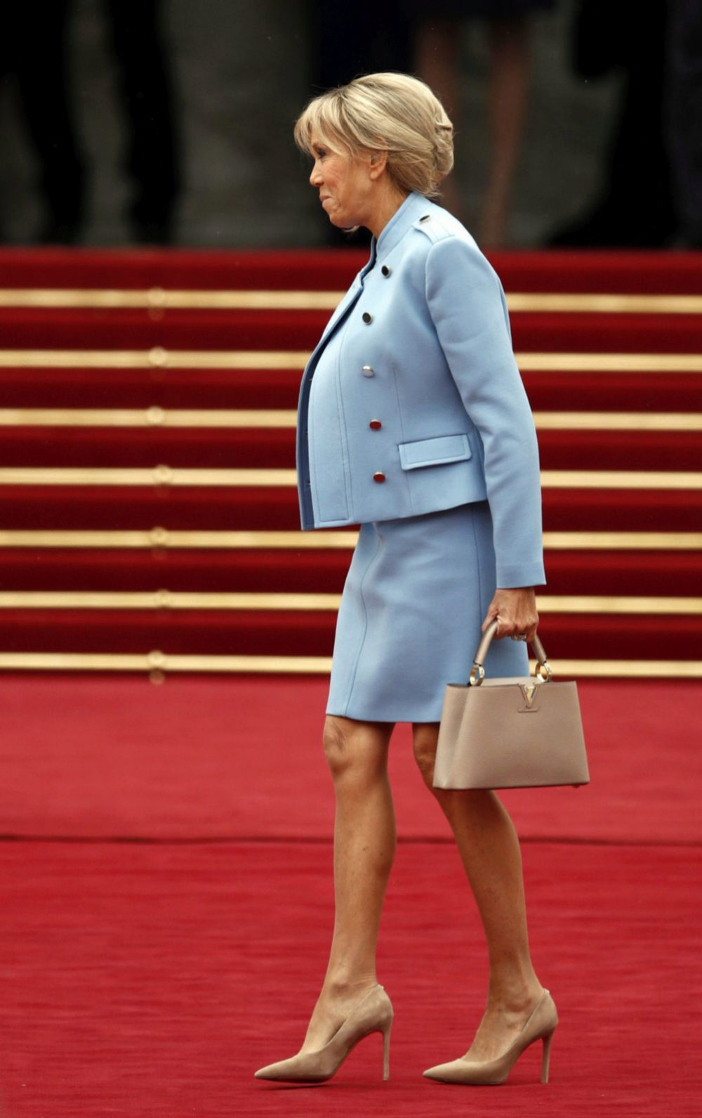 Brigitte Trogneux de Louis Vuitton
