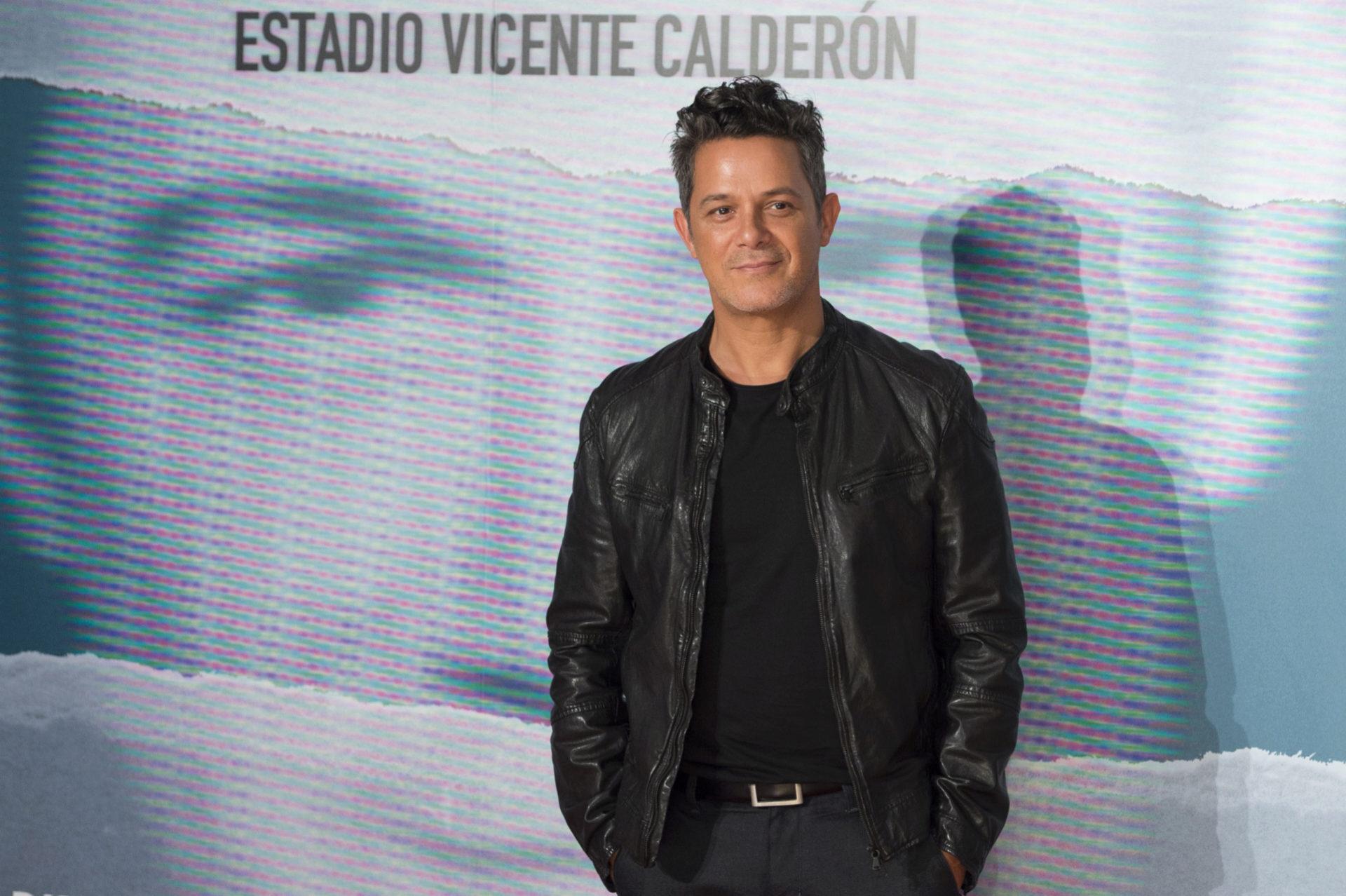 """Alejandro Sanz, en la presentación del concierto """"Más es Más"""", en..."""
