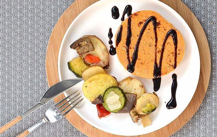 Hamburguesa vegana, de Apeteat