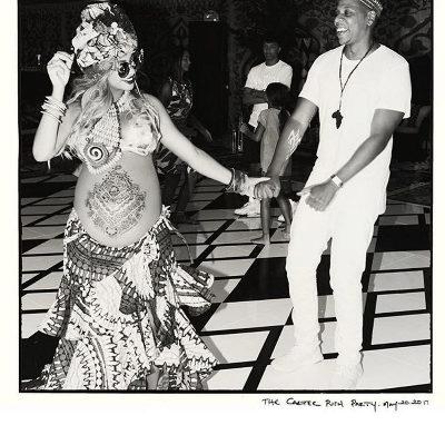 Beyoncé con su marido, Jay- Z