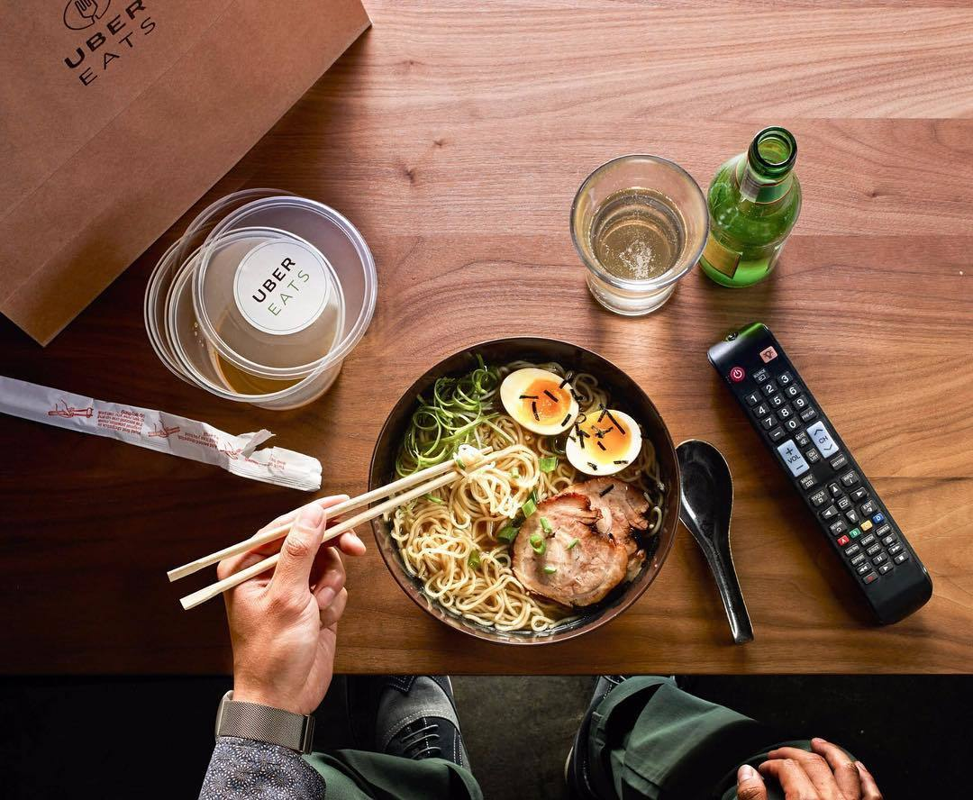 Uber Eats te lleva casi todo lo que imagines a casa
