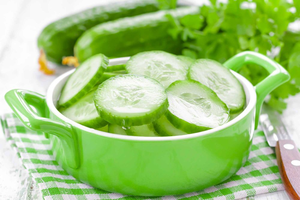 El pepino es otro ingrediente que te ayudará a preparar mascarillas...