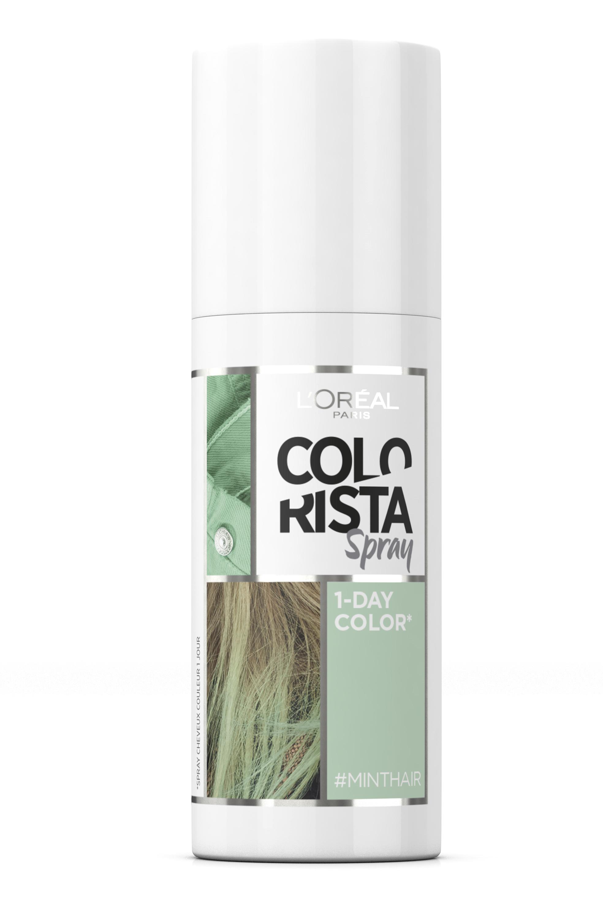 Spray de la línea Colorista de L'Oréal Paris.