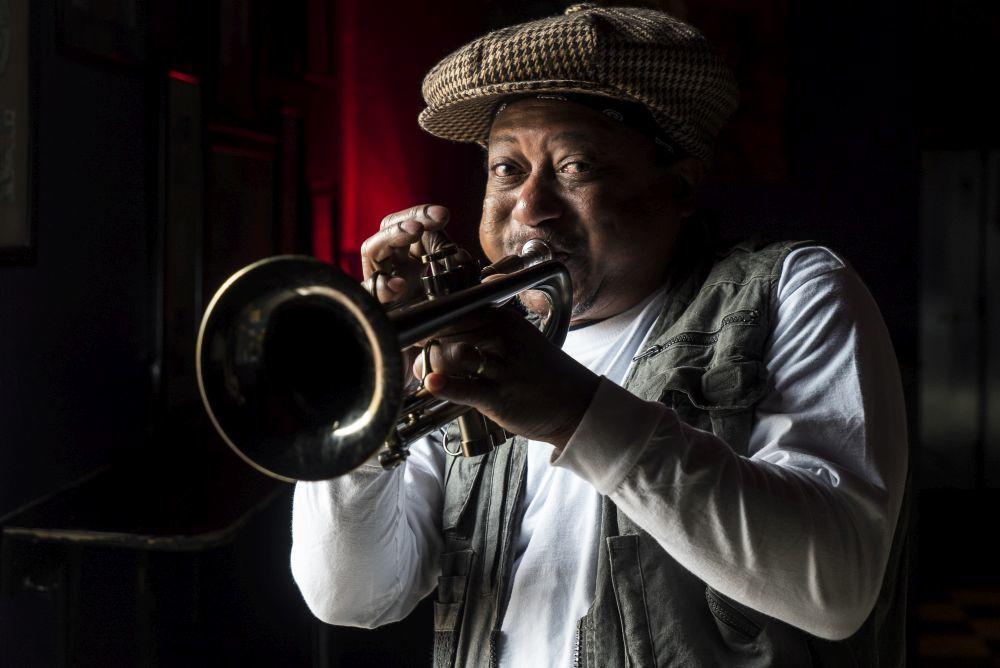 El jazz y Nueva Orleans son sinónimos. En esta foto, el trompetista...