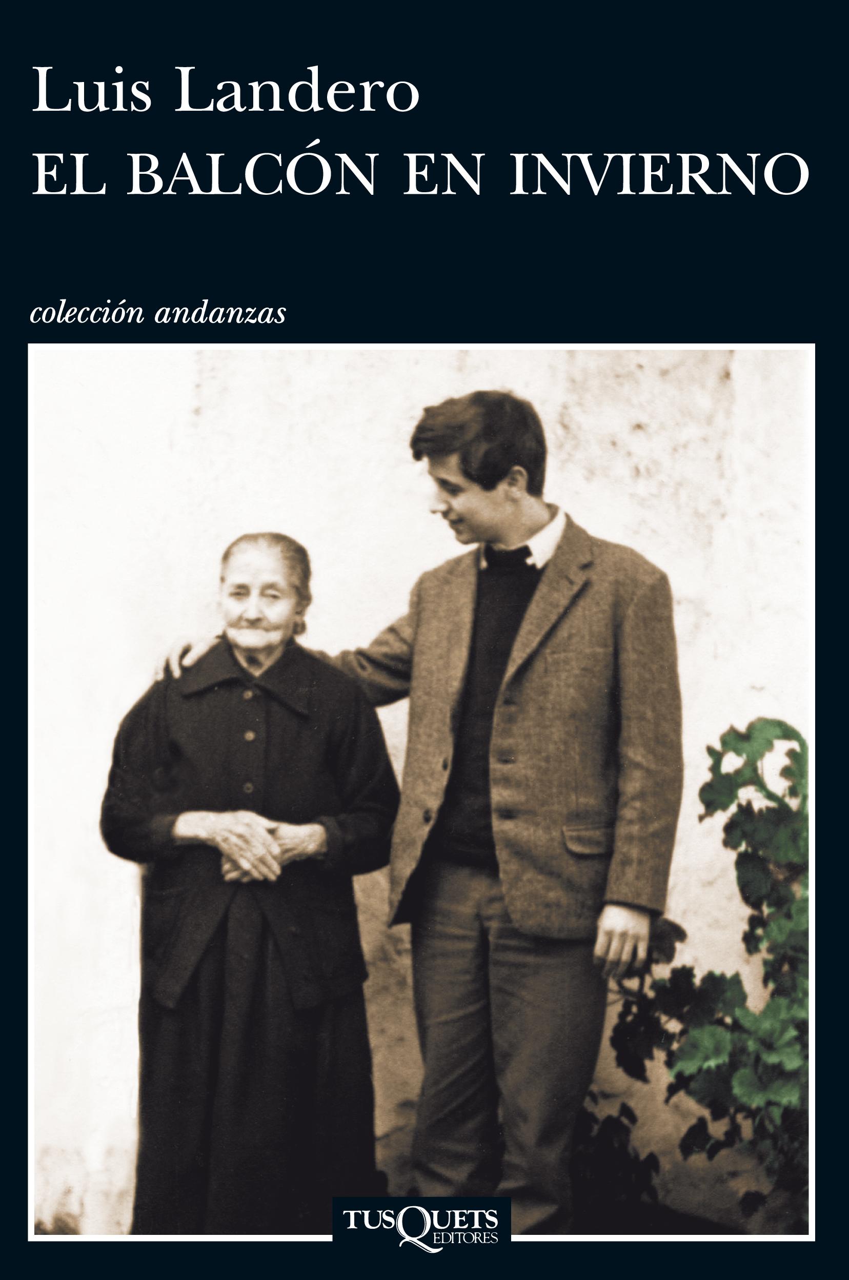 'El balcón de invierno' es la narración autobiográfica de Landero.