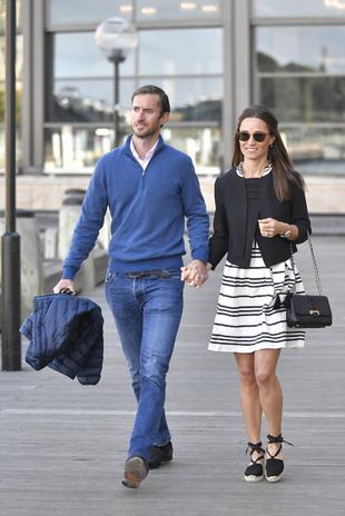 Pippa Middleton y James Matthews durante su luna de miel en Sydney.