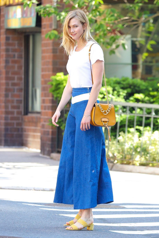 Karlie Kloss protagoniza el look del día.