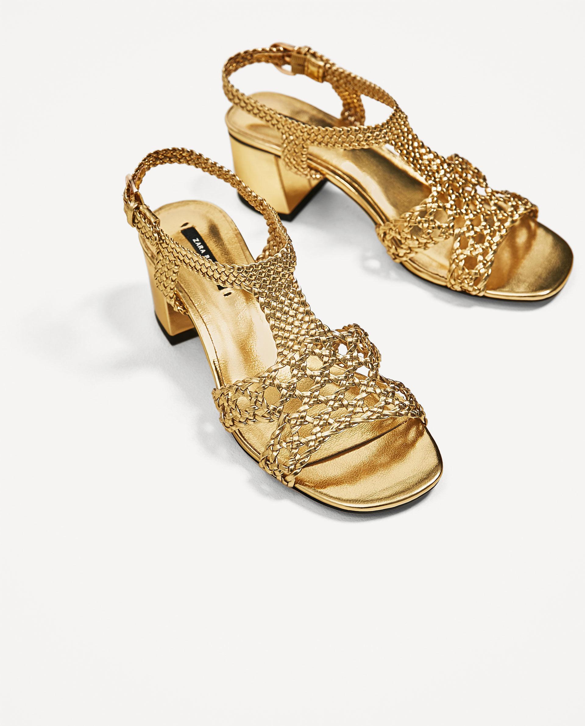 Las sandalias que firma Zara.