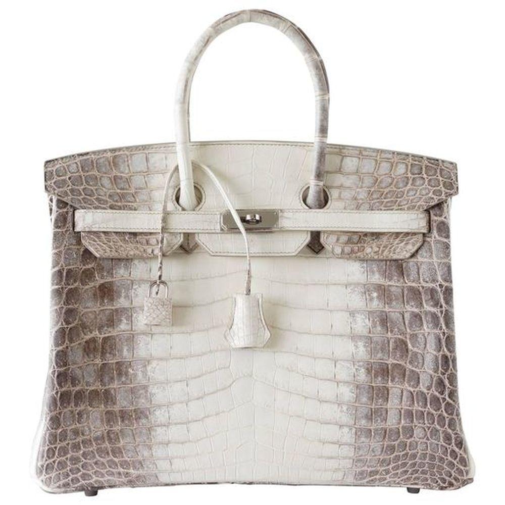 Bolso Hermès del modelo Himalaya Birkin