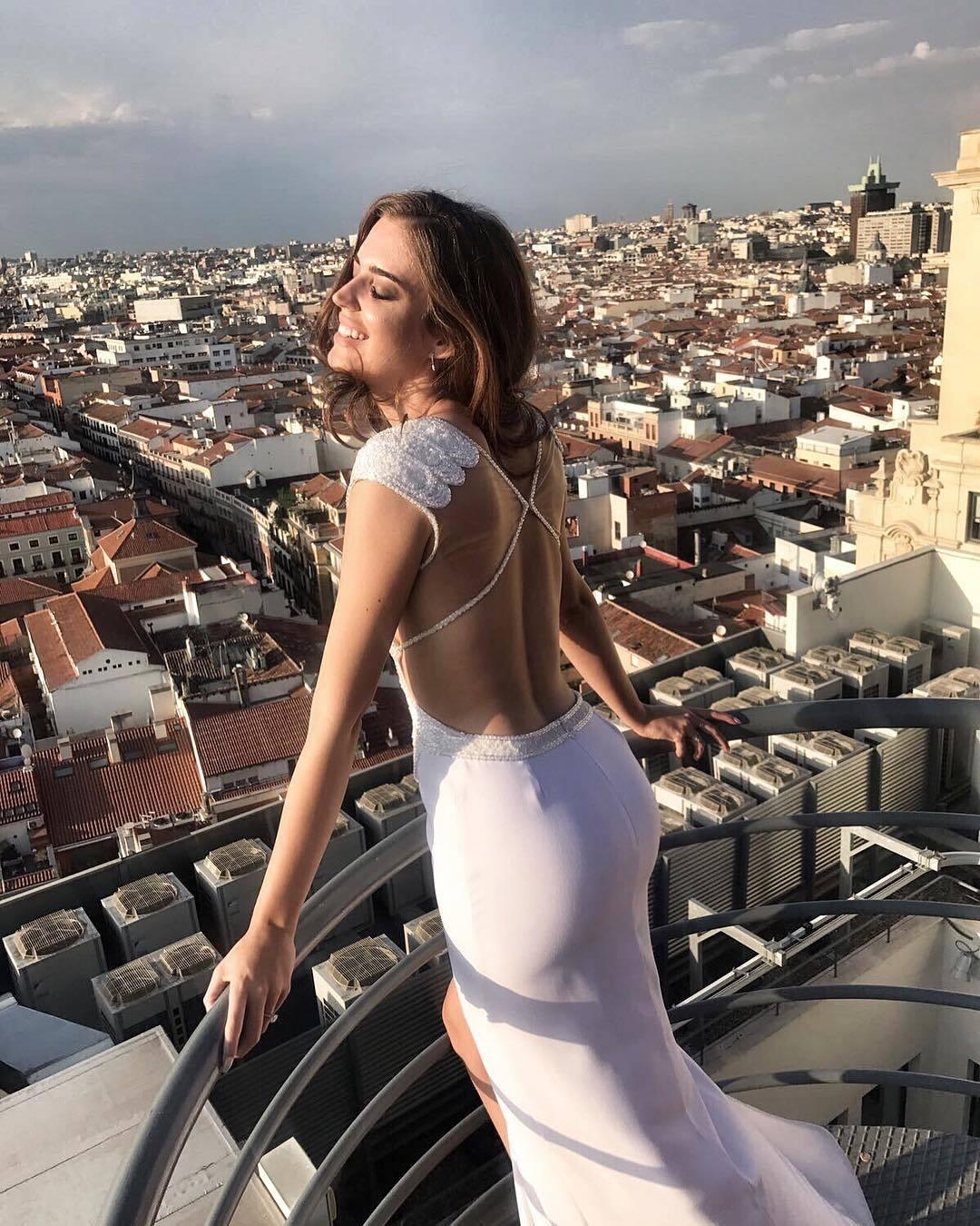 El vestido de novia de Clara Alonso