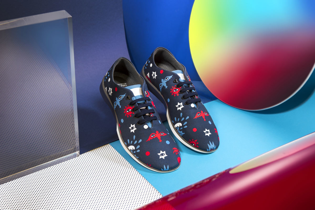 Zapatillas edición limitada diseñadas por Ricardo Cavolo en...